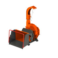 Hydraulic Feed Wood Chipper 102R