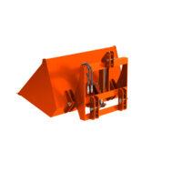 Heavy Duty Hydraulic Dirt Scoop Bucket 4FT