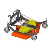 Finishing Mower 120 Hydraulic Euro Hitch