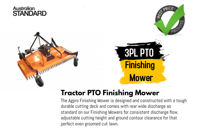 3PL PTO Finishing Mower