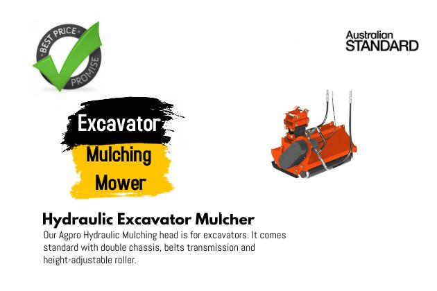 Excavator Mulching Mower