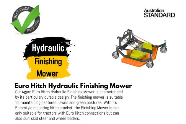 Hydraulic Finishing Mower