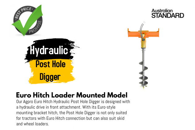 Hydraulic Post Hole Digger