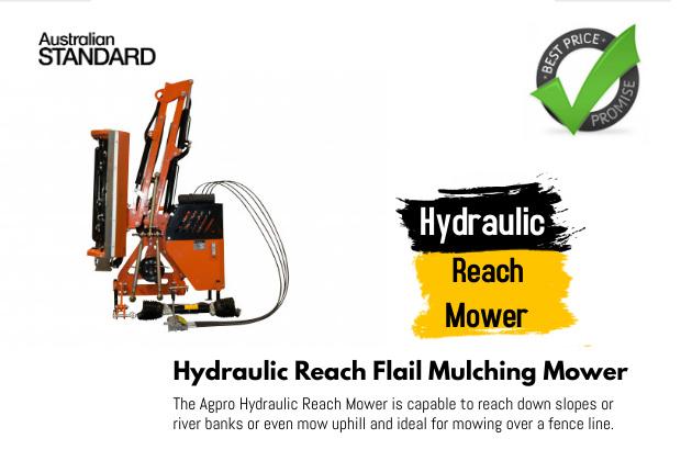 Hydraulic Reach Mower