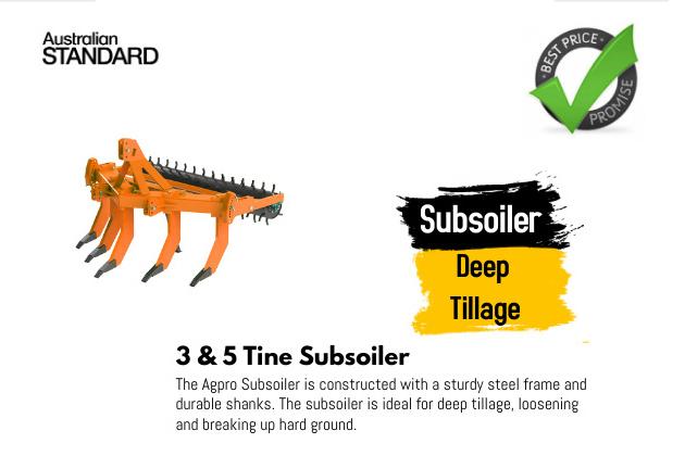 Subsoiler Deep Tillage